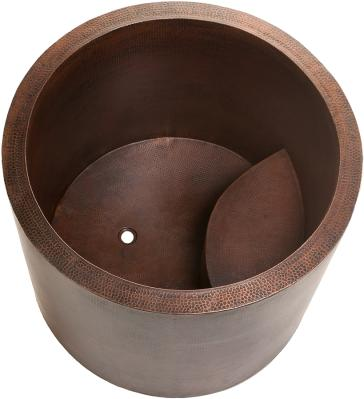 copper japanese soaking tub. Premier Copper BTR45DB image 1 Japanese Style Soaking Hand Hammered