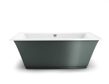 Maax 105742-000 Optik 6636 F Freestanding Soaker Tub | QualityBath.com