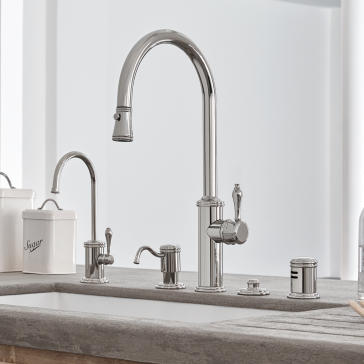 California Faucets Kitchen Davoli K