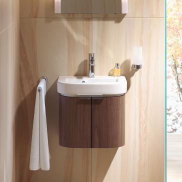 duravit h26268 happy d 2 wall mounted vanity unit. Black Bedroom Furniture Sets. Home Design Ideas
