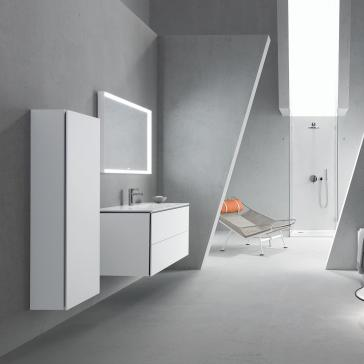 Duravit Lc738300000 L Cube Mirror With Lighting