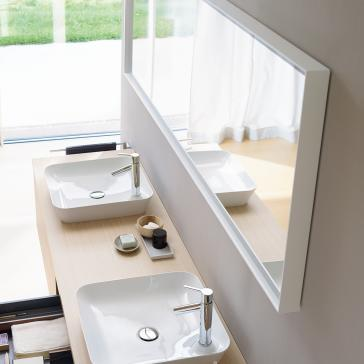 Duravit Lc738500000 L Cube Mirror With Lighting