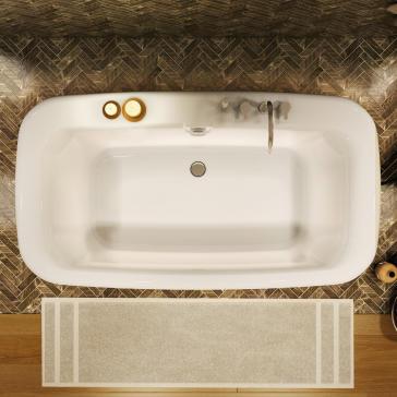 Maax 105756-000 Miles 6636 Freestanding Soaker Tub | QualityBath.com