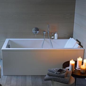 duravit 700332000000090 starck soaker tub. Black Bedroom Furniture Sets. Home Design Ideas