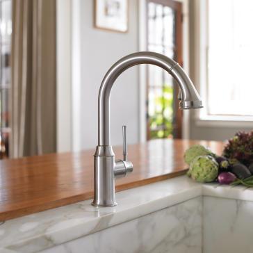 Hansgrohe 04215 Talis C Kitchen Faucet Qualitybath Com