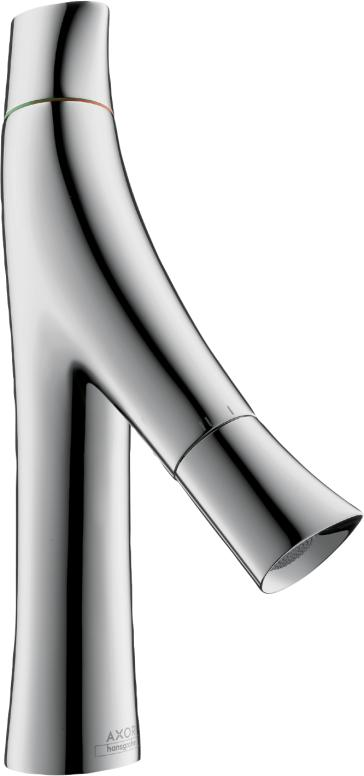 Axor 12011001 Starck Organic 2 Handle Single Hole Faucet