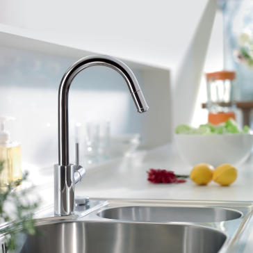 Hansgrohe Talis S Kitchen Faucet Steel Optic