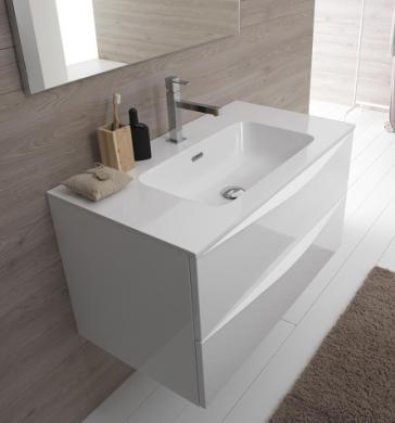 Hastings VIVA-VAN90M-GRA Viva Bathroom Vanity   QualityBath.com