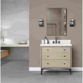 Fairmont Designs 1550 V36 Bravo 36 Bathroom Vanity Qualitybath Com