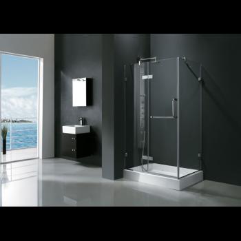 Vigo Vg6011 48 Frameless Rectangular Shower Enclosure 38 Tempered