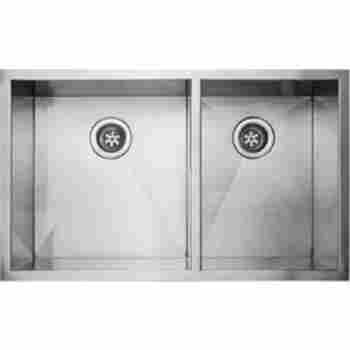 Fluid Ud3320 9 Point 33 Undermount Double Bowl Stainless Steel
