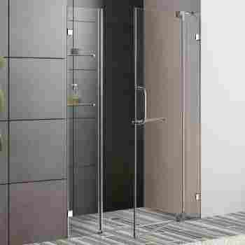 Vigo Vg6042 42 48 Frameless Shower Door 38 Tempered Glass With