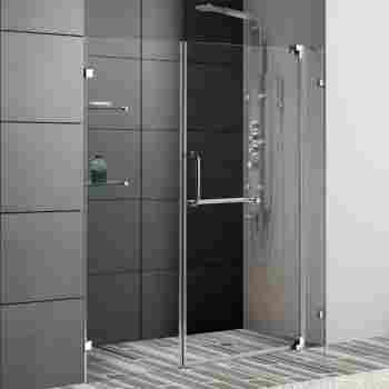 Vigo Vg6042 60 66 Frameless Shower Door 38 Tempered Glass With