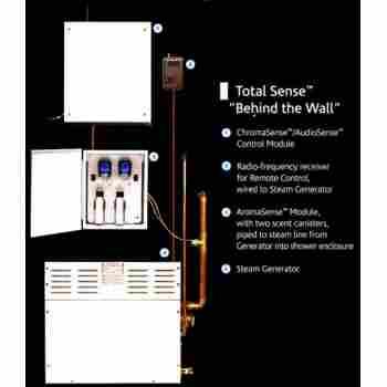 Steamist Tsg 10 Total Sense Steam Generator For 251 450 Cubic Feet Qualitybath Com
