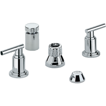 Grohe Wideset Kitchen Faucet And Handles