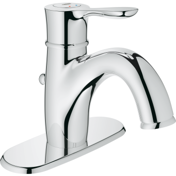 Grohe 23306ENA Parkfield Single Hole Lavatory Faucet With Escutcheon ...