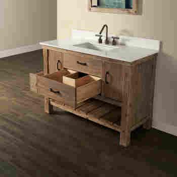 Fairmont Designs 1507 Vh48 Napa 48, Open Bathroom Vanities