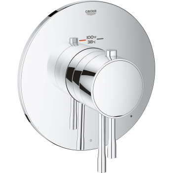 Essence New 2-Handle Single Function Thermostatic Trim With Control Module
