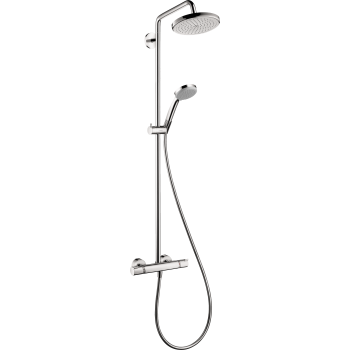 hansgrohe 27185 croma 220 showerpipe. Black Bedroom Furniture Sets. Home Design Ideas