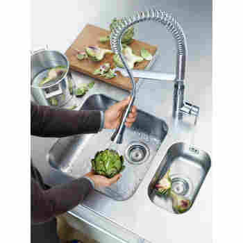 Grohe 30314000 K7 Semi-pro Medium Foot Control Faucet | QualityBath.com