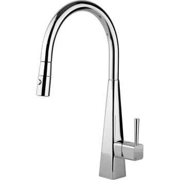 Gessi 37281 Natalia Kitchen Faucet With Pull Out Double Spray Qualitybath Com