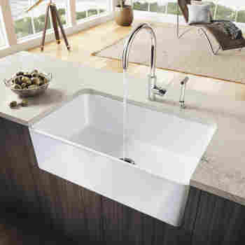 Blanco 524259 cerana ii 33 apron front kitchen sink for German made kitchen sinks