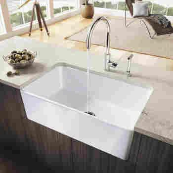Blanco 525012 Cerana 33 Apron Front Kitchen Sink Qualitybath Com