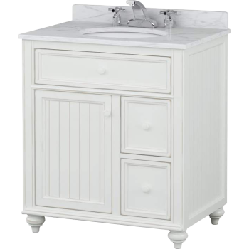 Sagehill Designs Cr3021dn New Cottage Retreat 30 Vanity Qualitybath Com