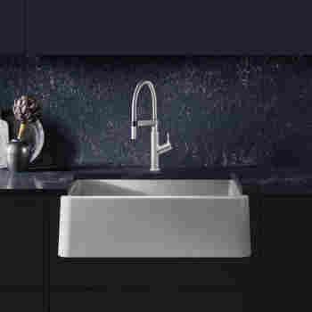 Blanco 401734 Ikon 30 Quot Apron Front Sink Qualitybath Com