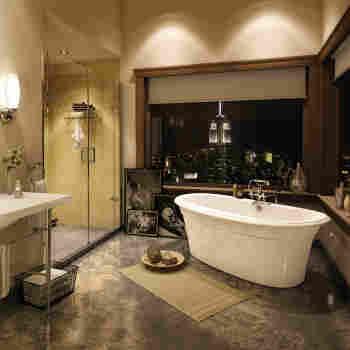 Maax 105745-000-007 Ella Embossed Design Freestanding Soaker Tub ...