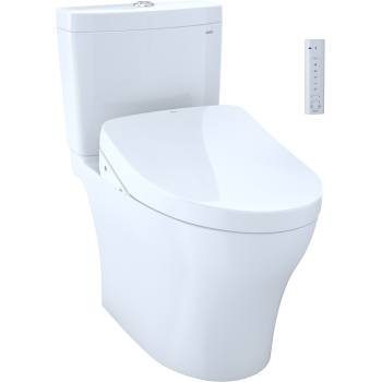 Groovy Aquia Two Piece Toilet With Washlet Seat Pdpeps Interior Chair Design Pdpepsorg