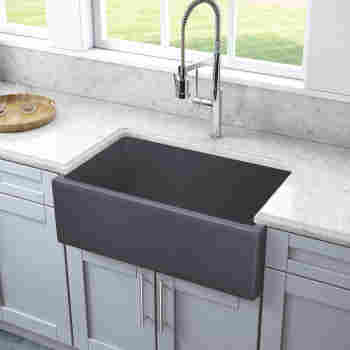 Plymouth 30 Granite Composite Farmhouse Apron Sink