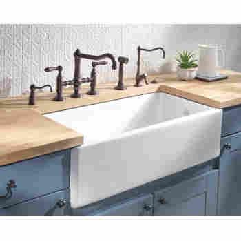 Rohl Rc3618 Shaws 36 Original Lancaster Fireclay Kitchen Sink