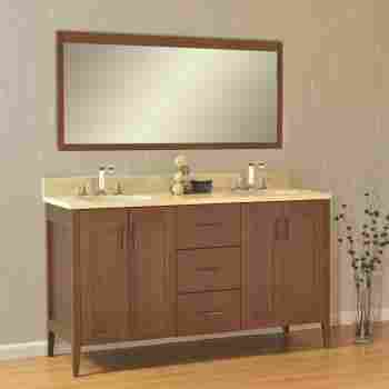 Strasser Woodenworks 56 106 Newhalem 60, 56 Bathroom Vanity Double Sink