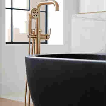 Brizo T70135 Litze Trim For Freestanding Tub Filler | QualityBath.com