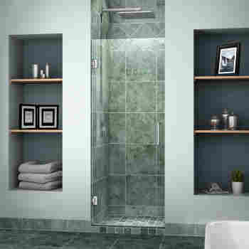 Dreamline Shdr 20247210f Unidoor 24 Hinged Shower Door