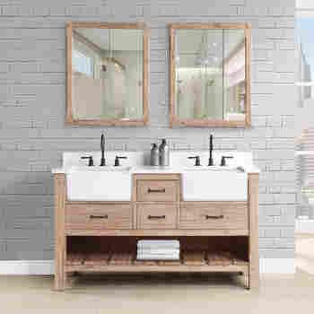 Fairmont Designs 1507 Fv60d Napa 60 Bathroom Vanity Qualitybath Com