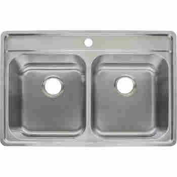 Franke Evdag904 18 Evolution 33 1 2 Stainless Steel Kitchen Sink Qualitybath Com