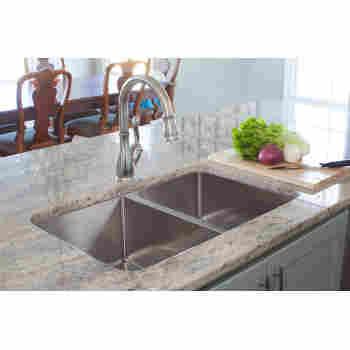 Franke Hft4322 2kit Vector 43 Stainless Steel Triple Bowl Kitchen Sink Kit Qualitybath Com