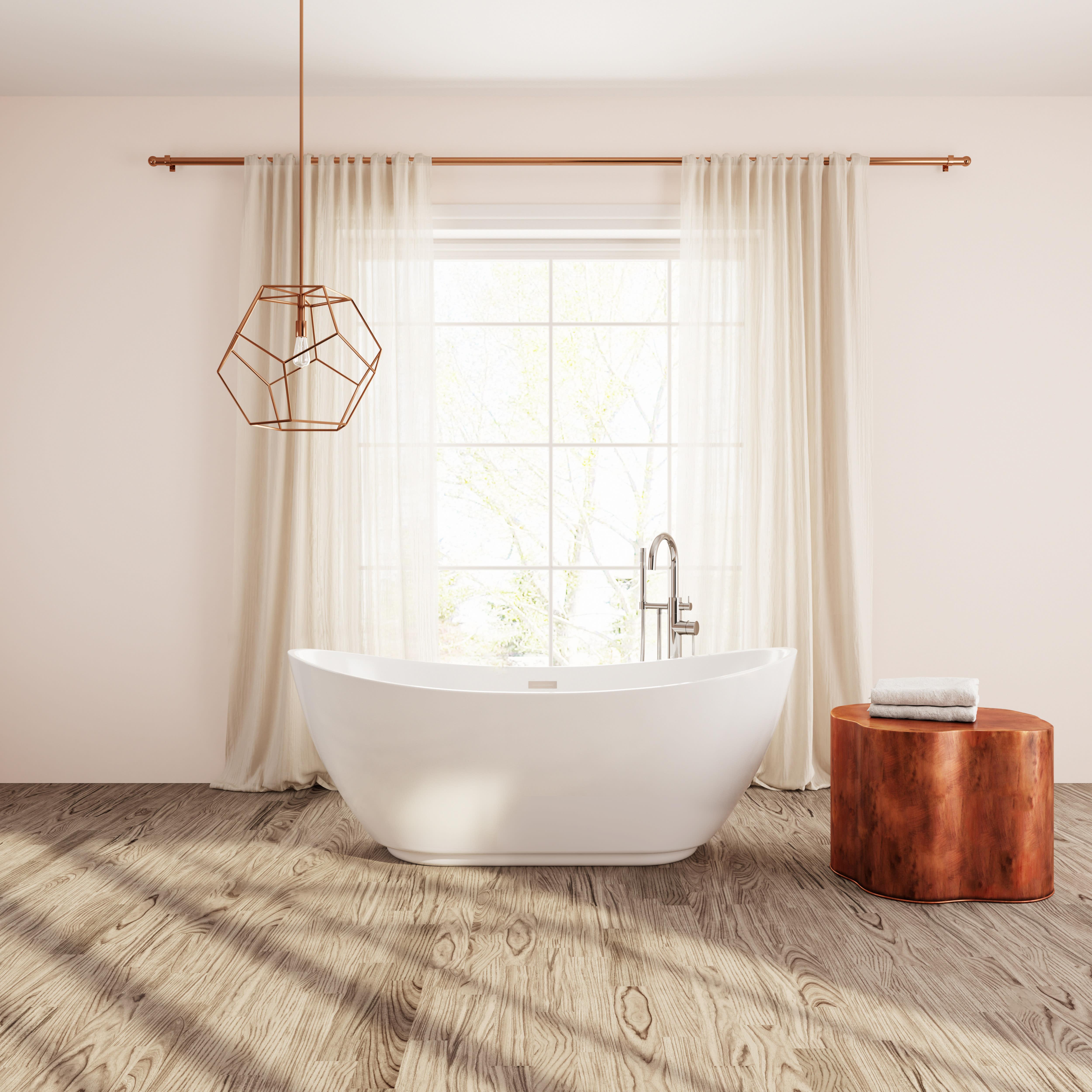 7 diy practical and decorative bathroom ideas.htm perlato ptrma6728 gw roma freestanding soaker tub qualitybath com  gw roma freestanding soaker tub