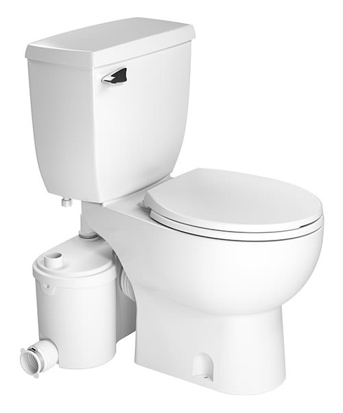 How Do Saniflo Up Flush Toilets Work Qualitybath Com