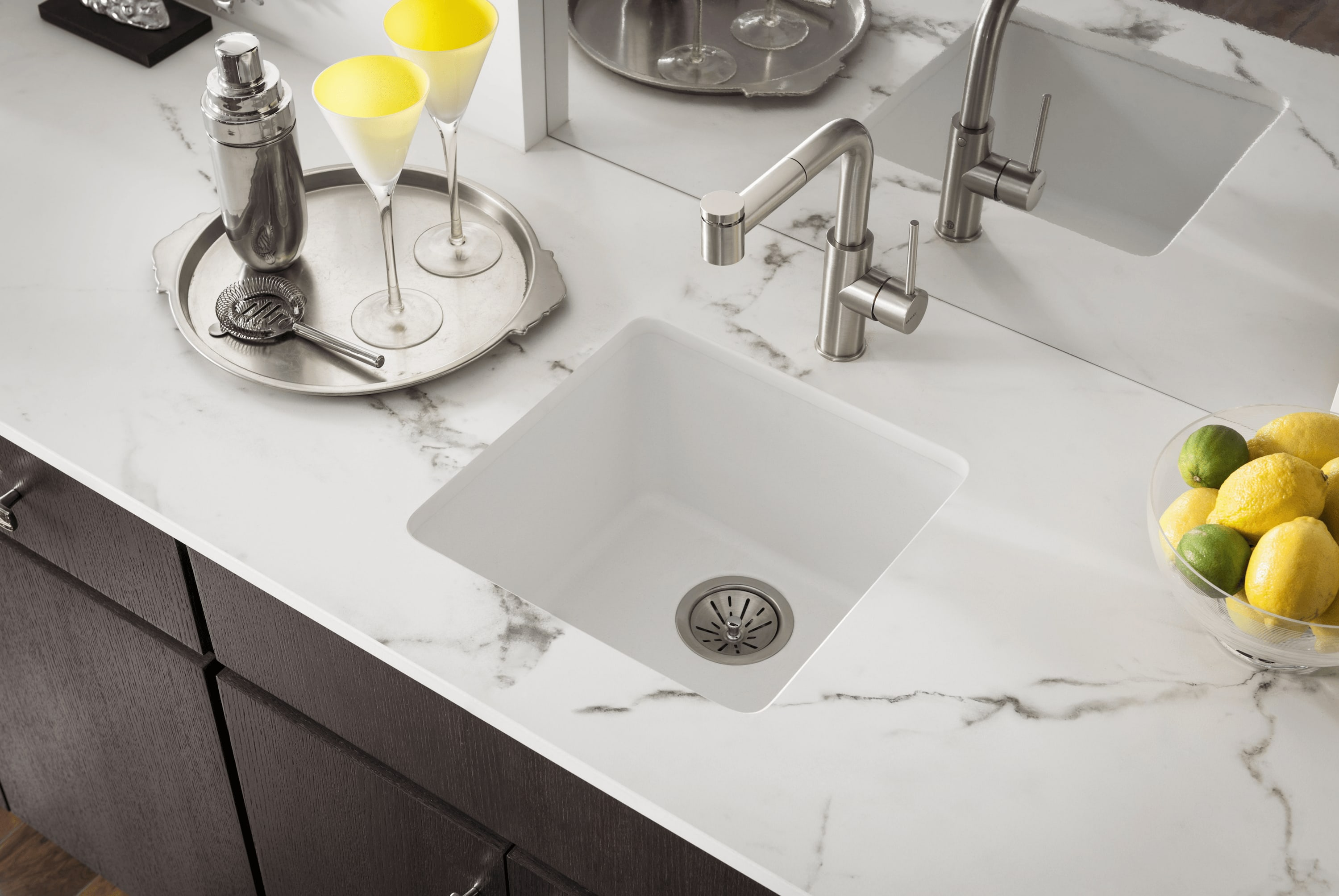 Quartz Worktop Integrated Sink Sink Ideas