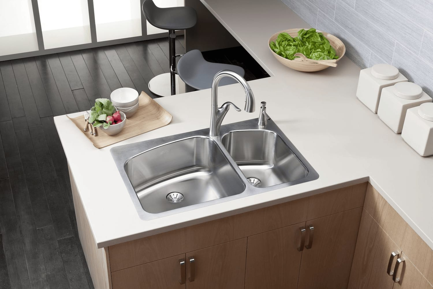 Stainless Kitchen Sink | Stainless Steel Sinks Everything You Need To Know Qualitybath
