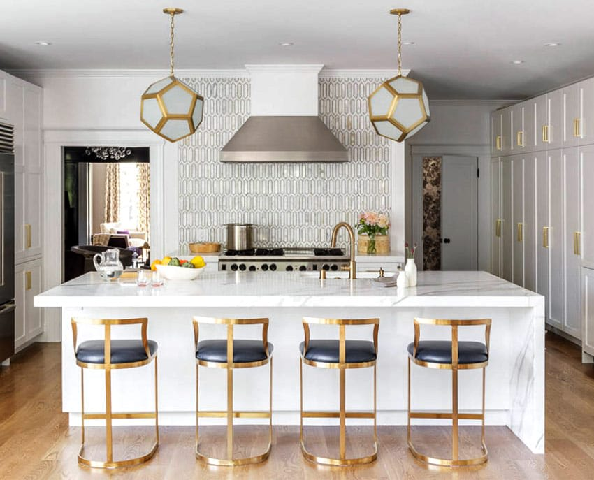 Mixing Metal Finishes In The Kitchen Qualitybath Com Discover