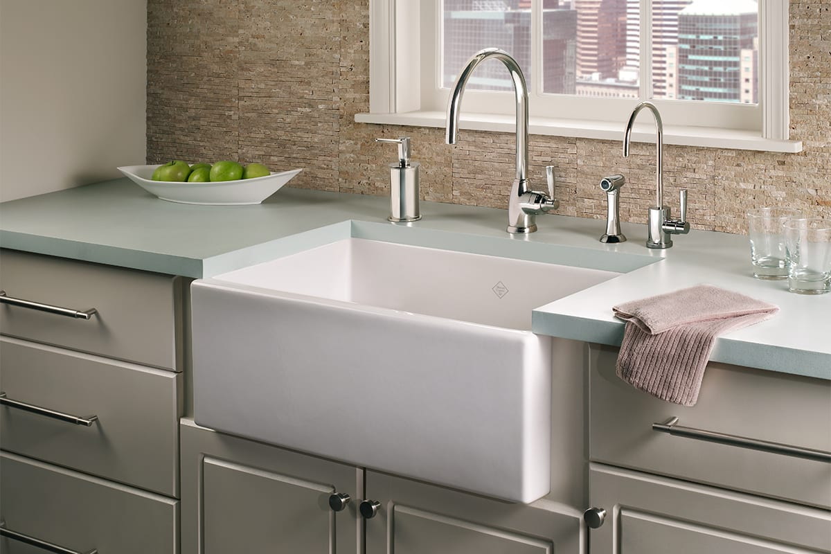 How to Repair a Scratched Fireclay Sink | QualityBath.com Discover