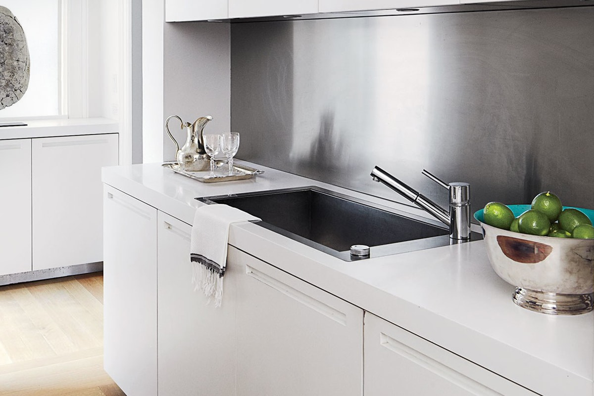 How to Clean a Stainless Steel Sink | QualityBath.com Discover