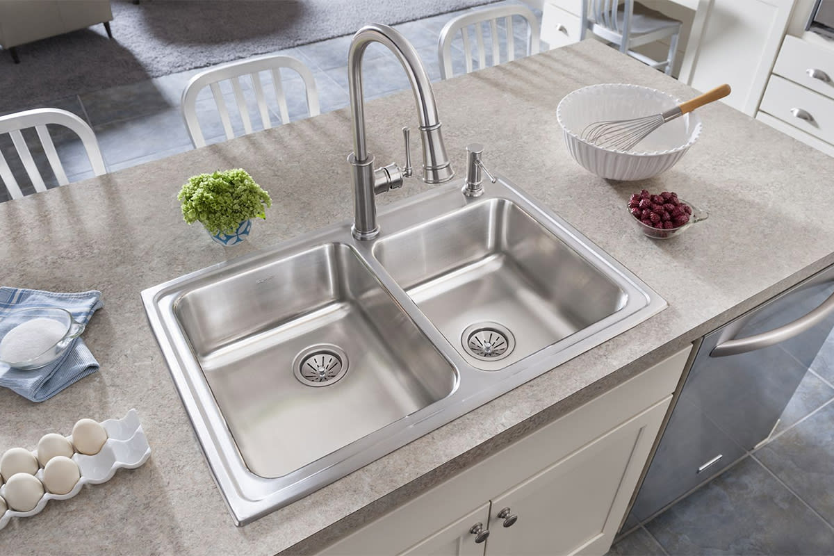 How to Choose Kitchen Sink Size | QualityBath.com Discover Undermount Kitchen Sink Size Cut Out on kitchen cabinets sizes, kitchen island sizes, bathroom vanity sizes, bathroom sink sizes, stainless kitchen sink sizes, elkay kitchen sink sizes, bar sink sizes, single basin kitchen sink sizes, soaker tub sizes, kitchen design sizes, shower sizes,