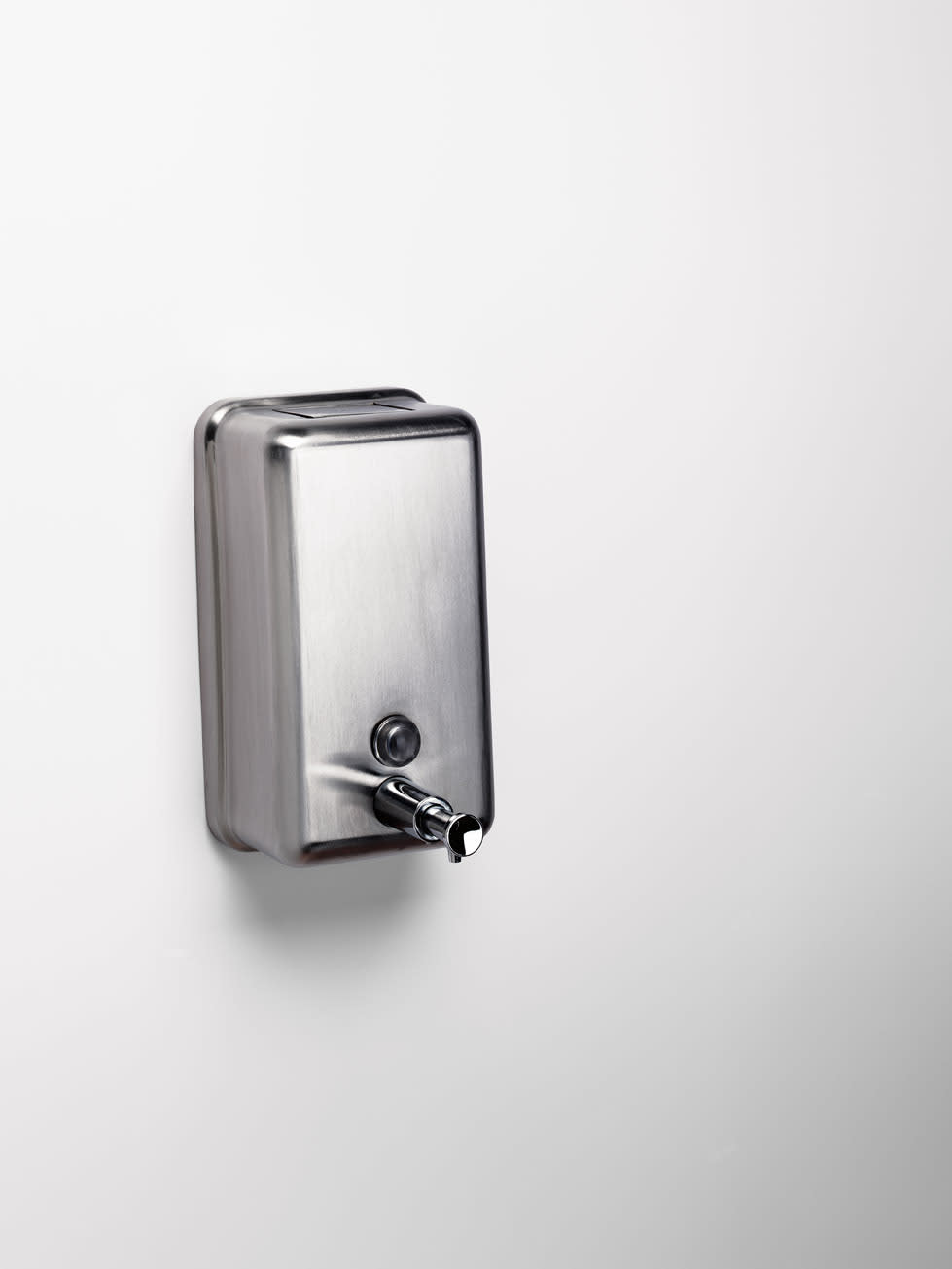 Sonia 132706 Commercial Items Vertical Soap Dispenser | QualityBath.com