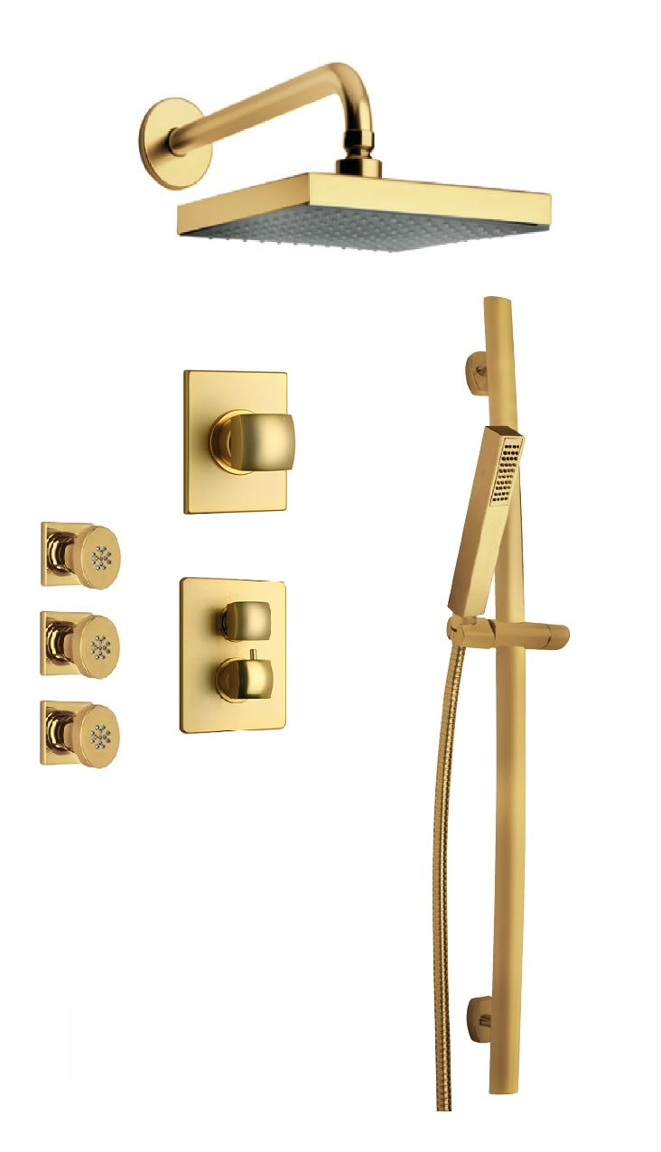 Latoscana Option 7 Lady Thermostatic Shower System Qualitybath Com