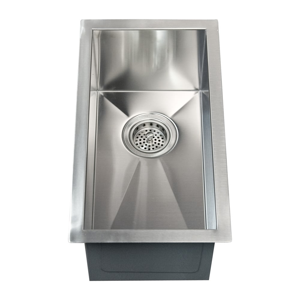 Barclay Psssb2048 Ss 11 Ophelia Rectangular Stainless Steel Prep Sink Qualitybath Com